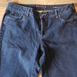 Sonoma Boot cut Jeans size 16 Short